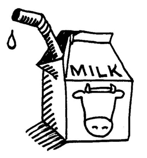 glass of milk with straw coloring page coloring pages