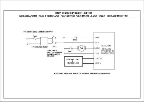 changeover contactor wiring diagram portable electric