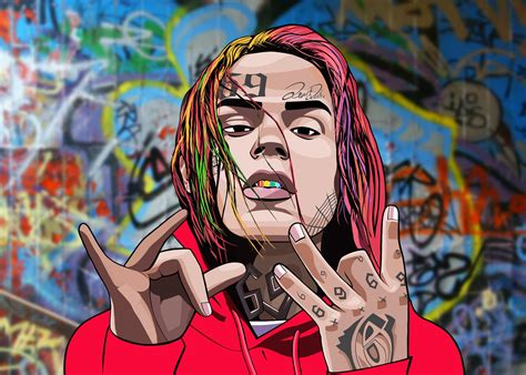 6ix9ine drawing 6ix9ine drawing procreate