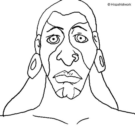 mayan mask coloring coloring pages