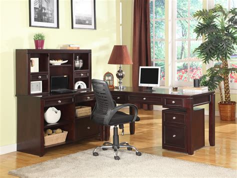 boston l shape credenza home office set from house