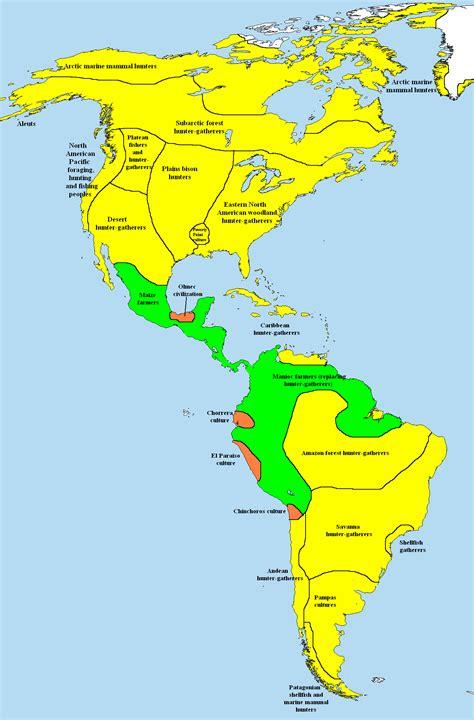 american civilizations map pre columbian era wikiwand