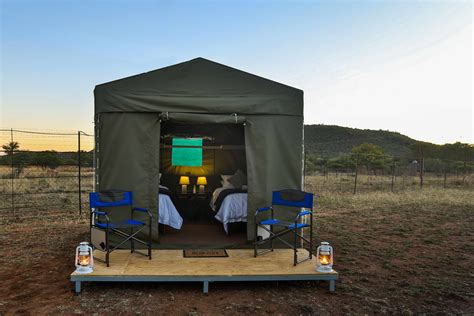 Eco Holidays In Eco Lodges by Green Accommodation West Pilanesberg Tented Safari