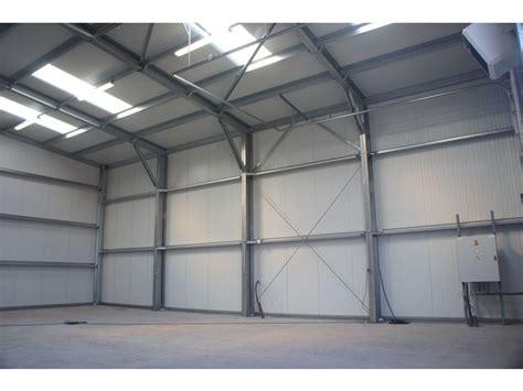 Cout Construction Hangar Industriel by Construction D Un Hangar M 233 Tallique