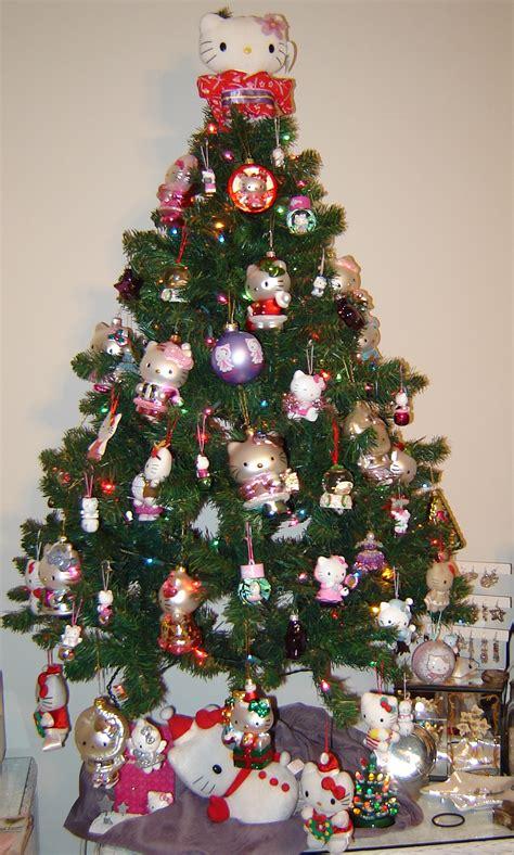 kitty xmas tree  kitty hell
