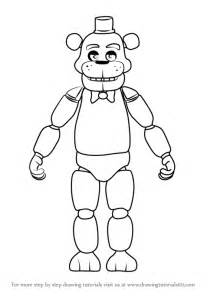 learn how to draw freddy fazbear from five nights at