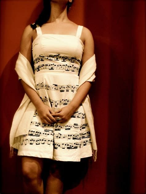 Dress Musik note dress about notes