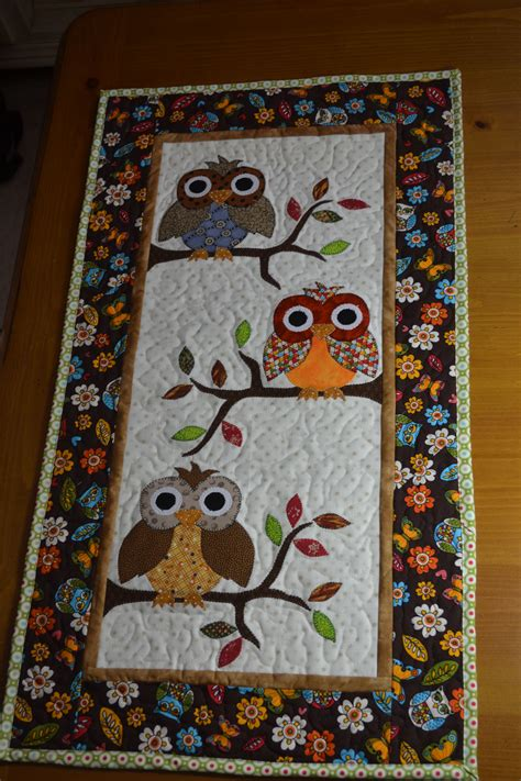 Owl Patchwork Patterns - for my pattern in quiltmaker july august 2013 these