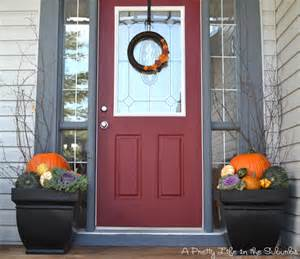 Decorating Ideas For Fall Front Porch Picture Of Fall Front Porch Decorating Ideas