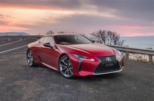 Lexus For Sale Australia Lexus Lc 500 500h On Sale In Australia From 190 000