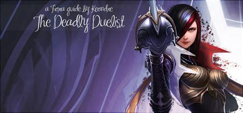 pro builds fiora fiora build guide fiora the deadly duelist league