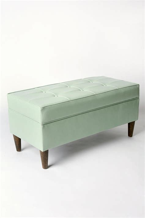 green storage bench 37 best images about mint sea foam green on