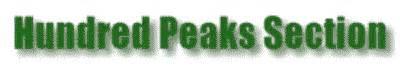 Hundred Peaks Section Angeles Chapter Sierra Club