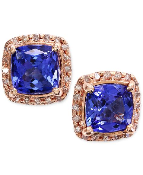 Tanzanite 6 10 Ct macy s tanzanite 1 9 10 ct t w and 1 6 ct t