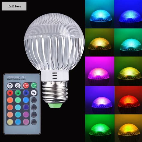 Led Light Bulb Brands Brand New Home Use E27 15w Rgb Aluminum Led Light Color Changing L Bulb 85 265v With Remote