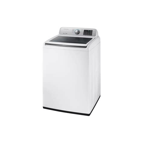 samsung wa45m7050aw 4 5 cu ft high efficiency top load washer in white energy