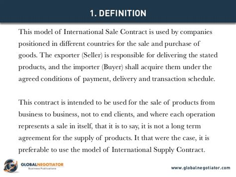 Letter Of Agreement Between Buyer And Seller International Sale Contract Contract Template And Sle