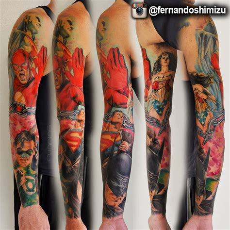 dc tattoos dc comics by fernandoshimizu on deviantart