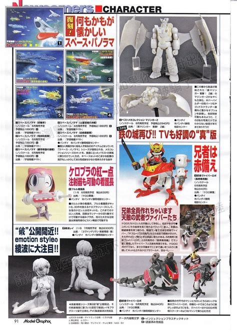 Keroro Real Type 04 Keroro Gunso Plamo Collection Bandai ngee khiong gundam capsule toys others from hobby japan model graphix july issue