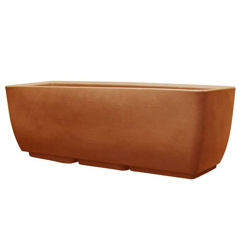 Rts Home Accents 30 In X 10 In Terra Cotta Planter Terra Cotta Planter
