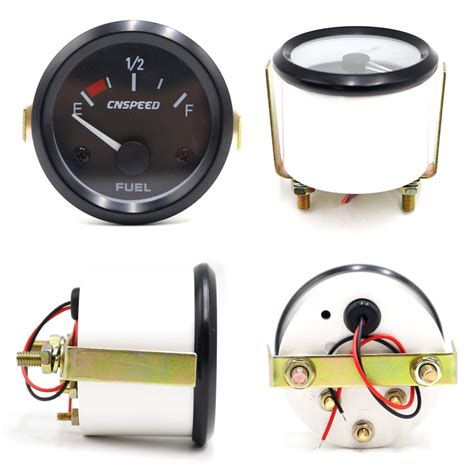 residential switch with light indicator white 52mm universal fuel gauge electrical car fuel level gauge