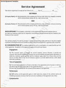 contract template for services agreement service agreement sle service level agreement jpg