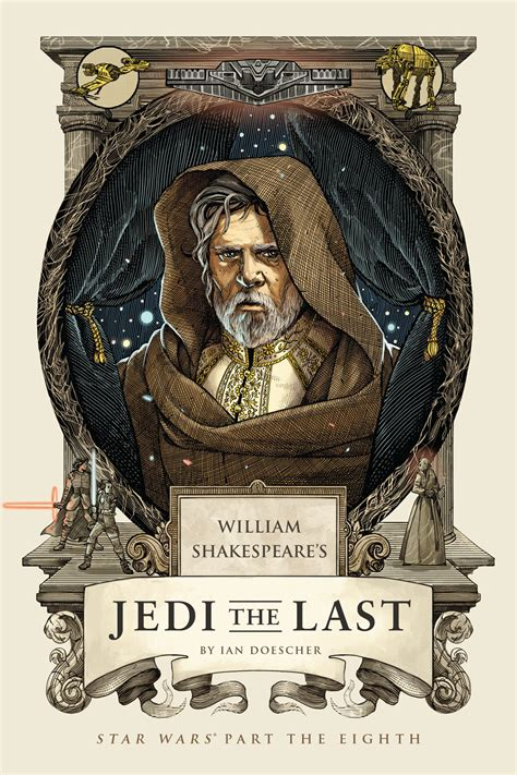 Pdf William Shakespeares Wars Doescher by Jedi The Last Cover Reveal Artist Starwars