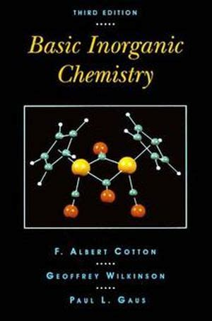 Inorganic Chemistry 5e archives entmaster
