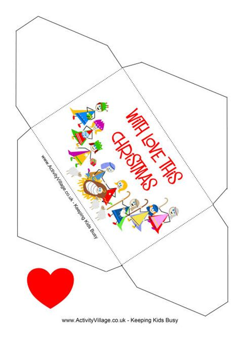 printable christmas cards envelopes 5 best images of printable money envelopes free