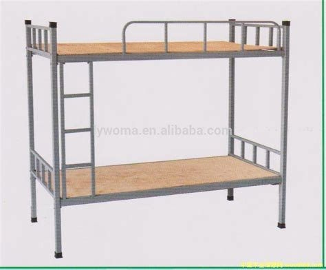 Cheap Price Double Decker Metal Bunk Bed Are Used In Used Metal Bunk Beds