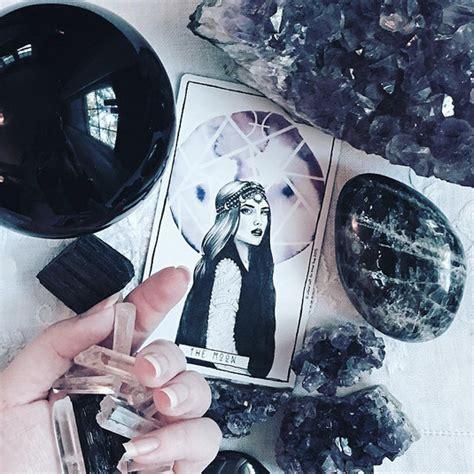 Colourpop Tarot moon tarot utterly witch ideas for