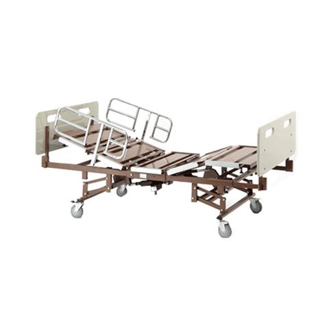 invacare beds invacare bariatric full electric bed with half rails and