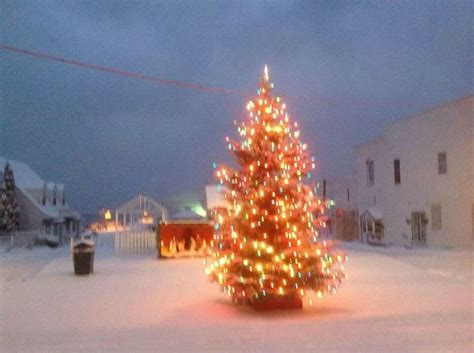 mackinac island christmas tree mackinac island mi