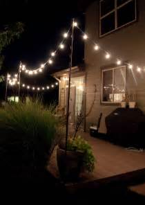 Hanging Outdoor Patio Lights by Bright July Diy Outdoor String Lights