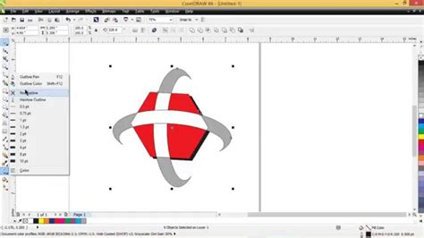 tutorial coreldraw membuat logo youtube cara membuat logo telkomsel dengan coreldraw x6 youtube