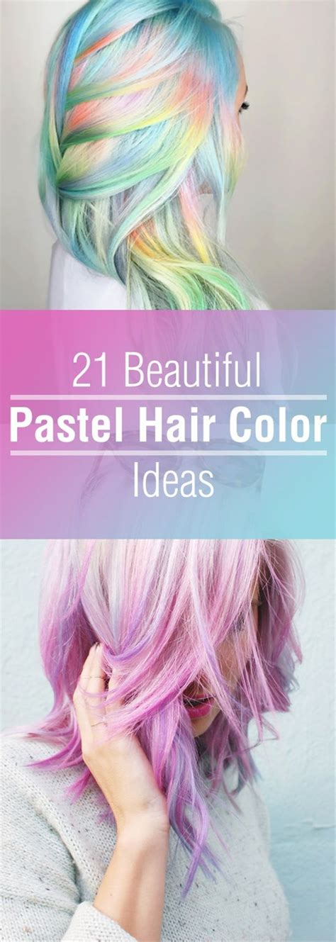 tips when youre bored of straight lifeless hair 25 best ideas about pastel hair colour on pinterest