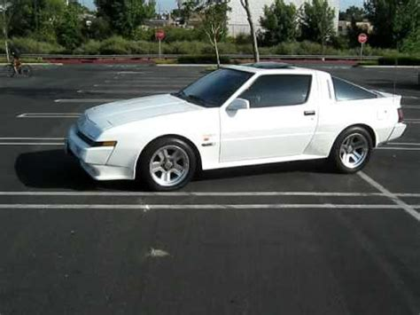 chrysler conquest 1987 1987 chrysler conquest tsi youtube