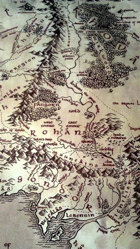 map for lord of the rings 25 best ideas about lotr on elvish writing