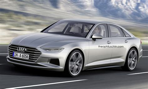 Neuer Audi A6 2017 2017 audi a6 rendered with prologue styling cues