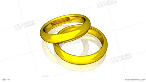 Wedding Motion Animation by Wedding Rings Gold Animation Stock Animation 1881484