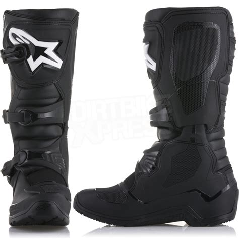 alpinestar tech 3 motocross boots alpinestars tech 3 enduro boots black dirtbikexpress