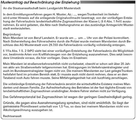 Vorlage Antrag Vätermonate Fahrerlaubnis Ausnahmen Vom Vorl 228 Ufigen Entzug Der Fahrerlaubnis