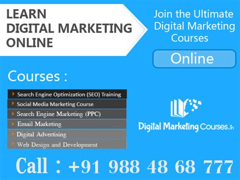 Digital Marketing Degree Course by Dmc Introduces Digital Marketing Courses For