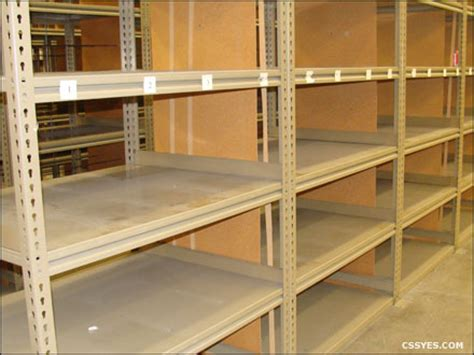 used commercial shelving image gallery metal racking