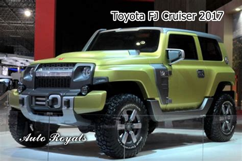 New Toyota Fj New Toyota Fj Cruiser 2017 Interior And Exterior Design