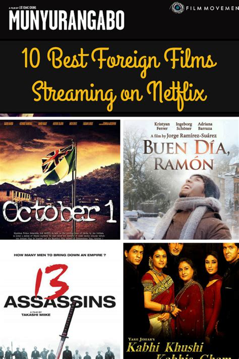 film streaming netflix 10 best foreign films streaming on netflix afropolitan mom