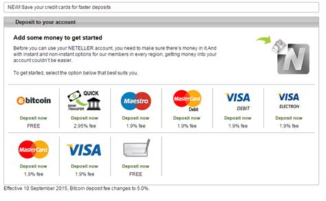 Bitcoin Merchant Account 2 by Neteller Increasing Bitcoin Deposit Fee To Be Highest Of