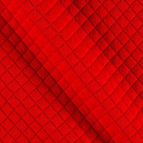 diamond pattern fabric red telio mini quilted knit diamond red discount designer