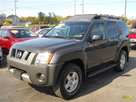 grey nissan xterra 2008 night armor dark gray nissan xterra s 4x4 54964139
