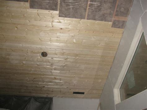 How To Hang Tongue And Groove Ceiling by Installing Pine Ceiling Free Programs